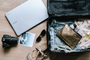Packing list for London