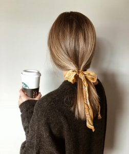 Tie up your hair