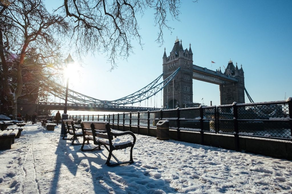 Best time of the year to travel to London, London in Winter